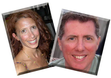 Lisa Franzino and Jared Varon - owners of Circlescapes