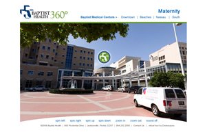Baptist Medical Center Virtual Tour by Circlescapes