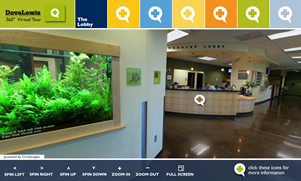 Dove Lewis Animal Hospital Virtual Tour by Circlescapes