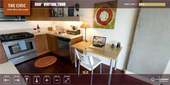 Virtual Tour Interface