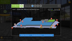 Austin Convention Center Virtual Tour by Circlescapes