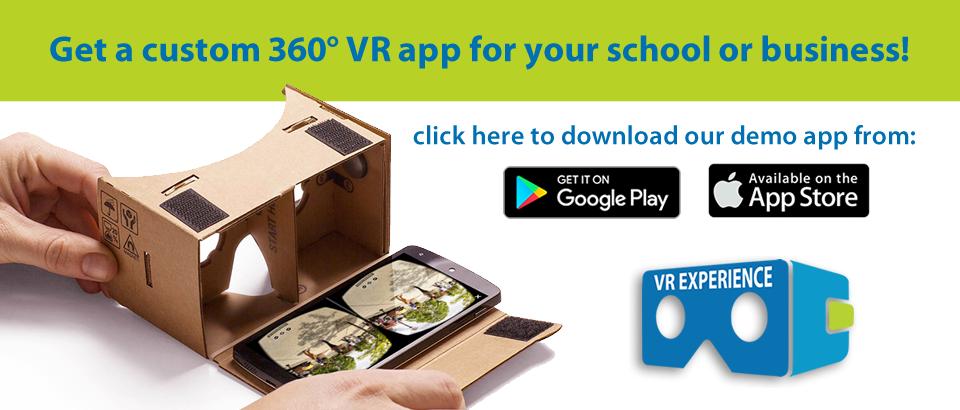 download the VR Experience App on your phone