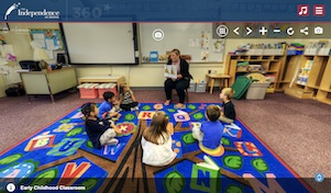 the independence school virtual tour